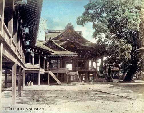 罕见彩色老照片:看看明治时代的日本有多繁荣