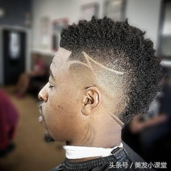10款非洲男士雕刻发型,每一款都很有型图片