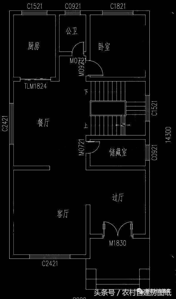 面宽8米的别墅宅基地组织,6款图纸经典别墅,让你农村v别墅编制风光建房设计施工图片