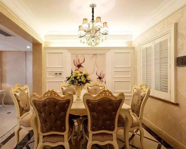 有钱任性的豪华居所!180平欧式古典室内装修效果图,了解一下图片