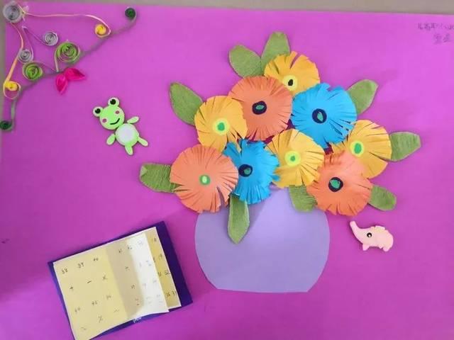 有制作皱纹纸花的皱纹纸,普通纸球花的包装彩纸和衍纸时所用的衍纸条