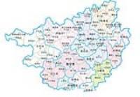 编辑本段 广西历史—新中国成立后 现代的广西地图图片