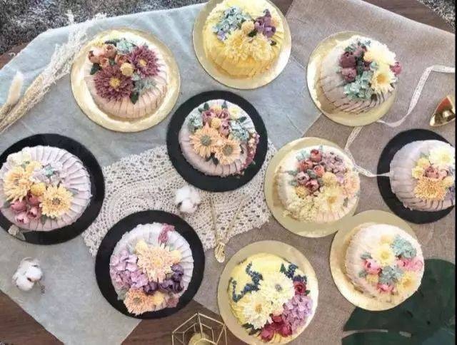 刷爆ins的网红蛋糕,您也可以亲手制作裱花蛋糕,做个有魅力的女人!图片
