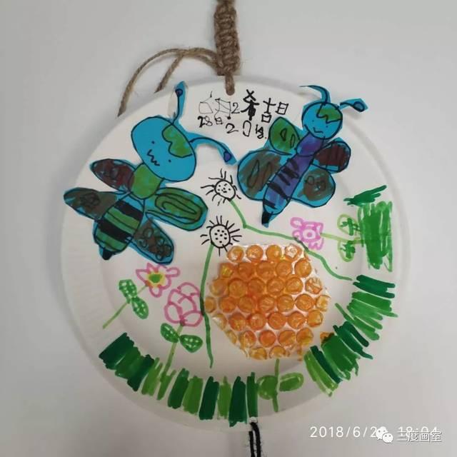 【三度画室】幼儿启智班课程回顾——小蜜蜂的家