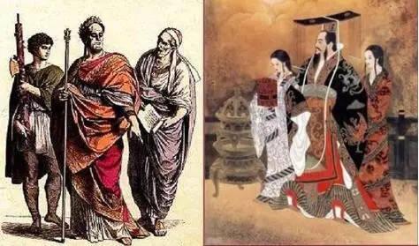 罗马与汉朝的皇帝究竟有多大不同?