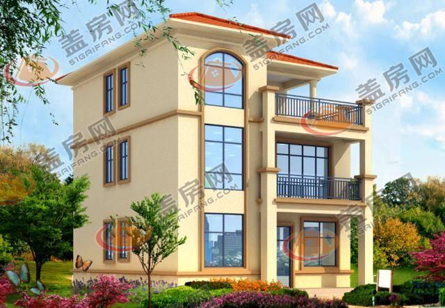 v别墅几款三层经济型小别墅设计图,造价不建筑设计师语录图片