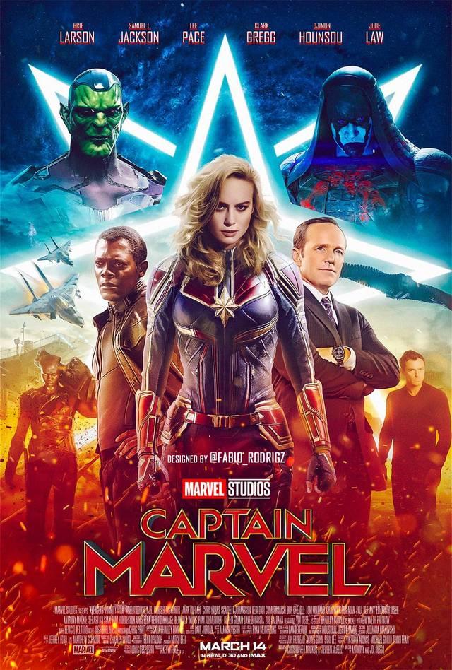 《惊奇队长》正式杀青 预告片将于年底曝光