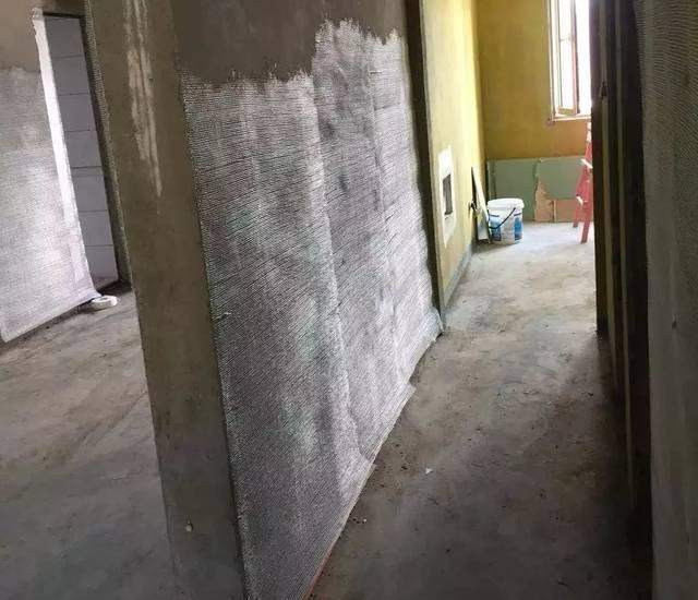 品尚茗居的刷墙工艺第一步放线,清灰第二步防锈处理红圈处为无轴方法输送机操作螺旋图片