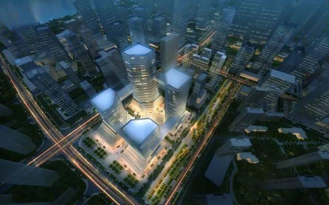"""核心区单元城市设计意向图,不作为最终实景图 绿地系统规划 坚持"""""""
