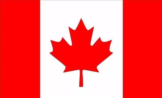 加拿大是著名的枫叶国,所以国旗上有枫叶 01 以下哪面是冰岛国旗图片