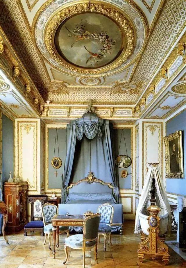 绝对是夺冠热门 现代法式 洛可可与巴洛克风格的结合是法式古典的代图片