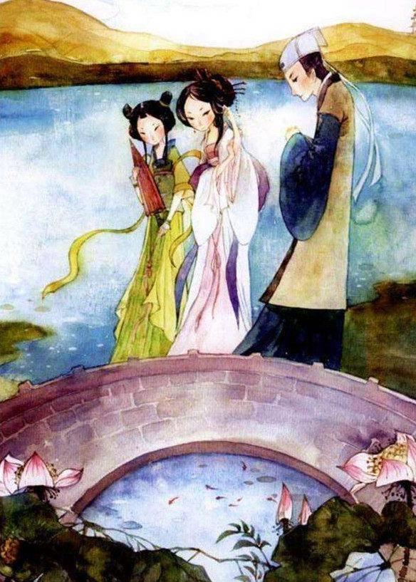 首推我国民间四大传说之一的《白蛇传》,白娘子和许仙的人蛇cp不畏