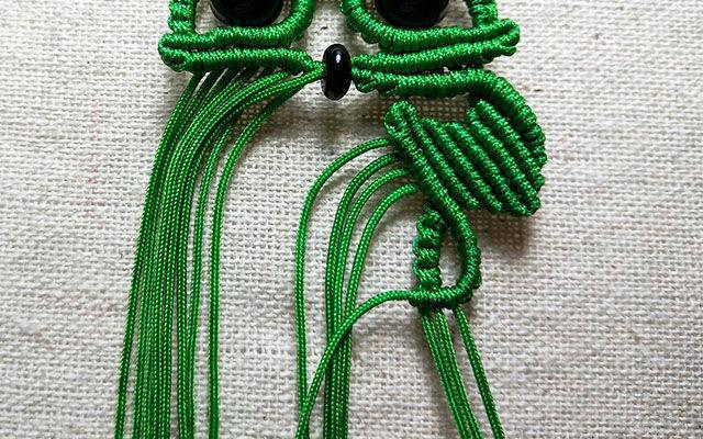 可爱猫头鹰的编织方法超详细图解