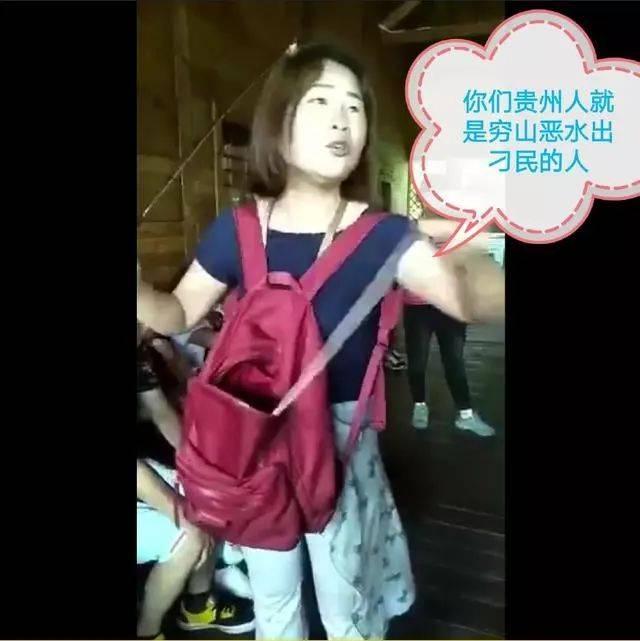 【悠悠事件】骂贵州人的女导游道歉了