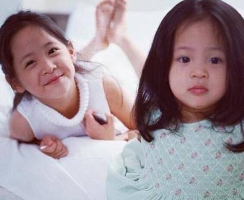 快14岁的欧阳娜娜的妹妹暴风抽高,小时候的三姐妹萌得图片