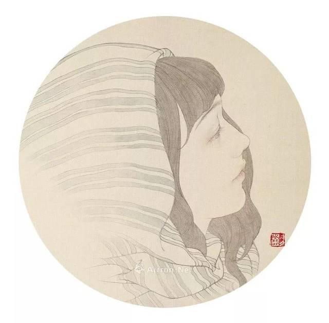 [推荐画家]工笔人物画家刘瑶作品欣赏