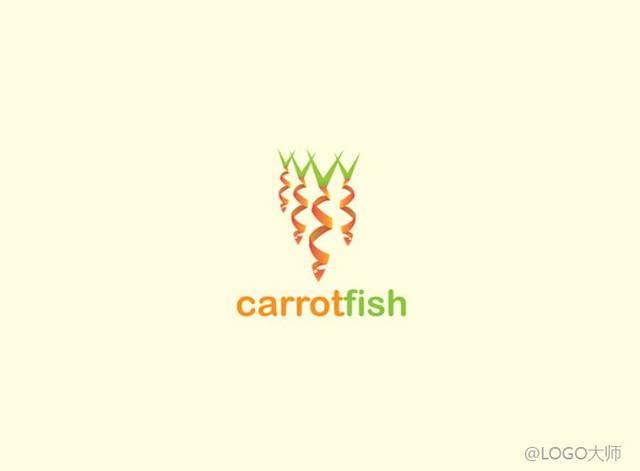 胡萝卜元素logo设计合集鉴赏!
