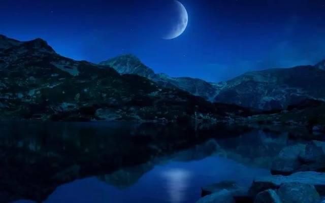 朗诵吧   福建作家《月亮》作者:林美聪,诵读:俊华【742期】
