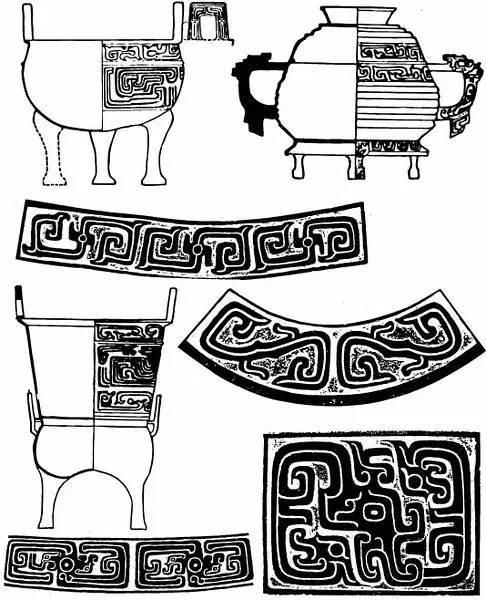 传统纹样系列——青铜器纹样, 美得惊心动魄!图片