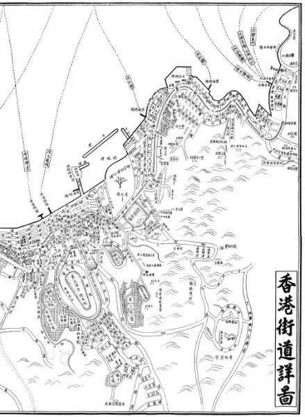 书中的手绘地图