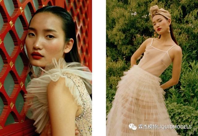 上海霖杰出来的模特