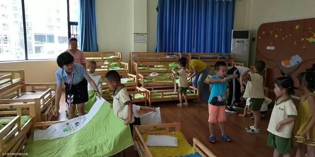 """(第5期)我是""""孩子王""""八字幼儿园技巧助教v八字跳大地绳的家长图片"""