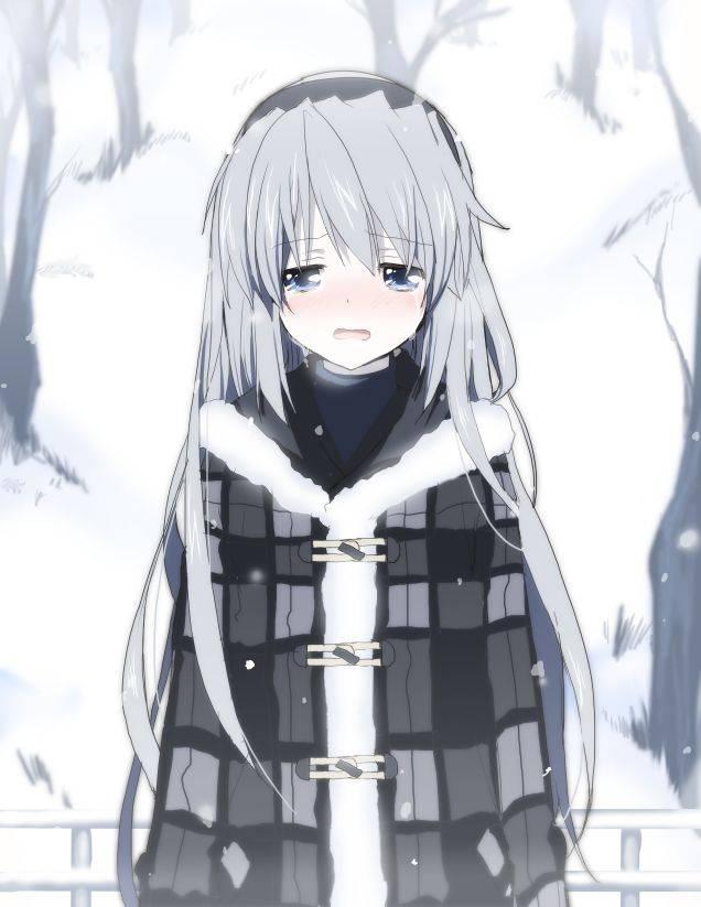 【p站美图】女生流泪最美!二次元萌妹哭泣好心疼