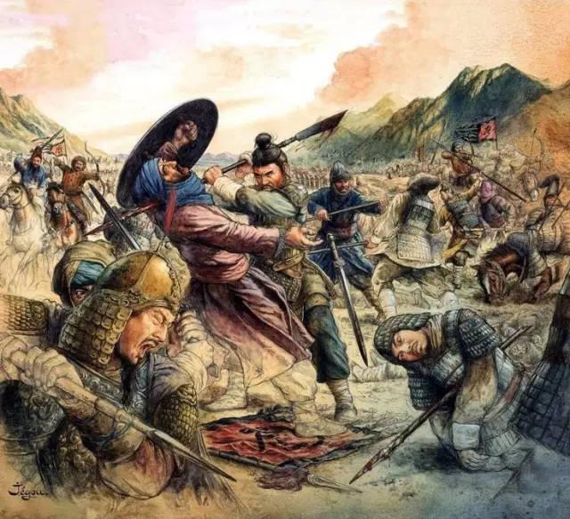 平之战交战�9��y�+_虽然此战最终失败,但也算古代中国与世界级强军交战的第一人.