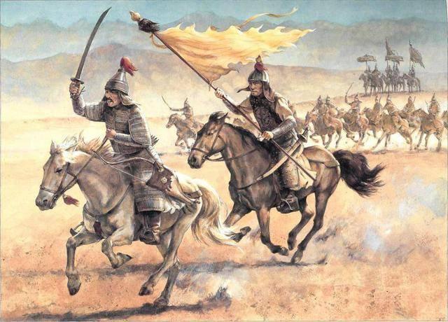 青木葵骑兵_最早的骑兵并没有马镫的支撑与辅助.