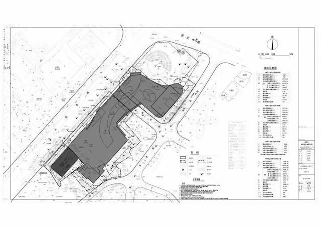 金城广场项目总平面图.