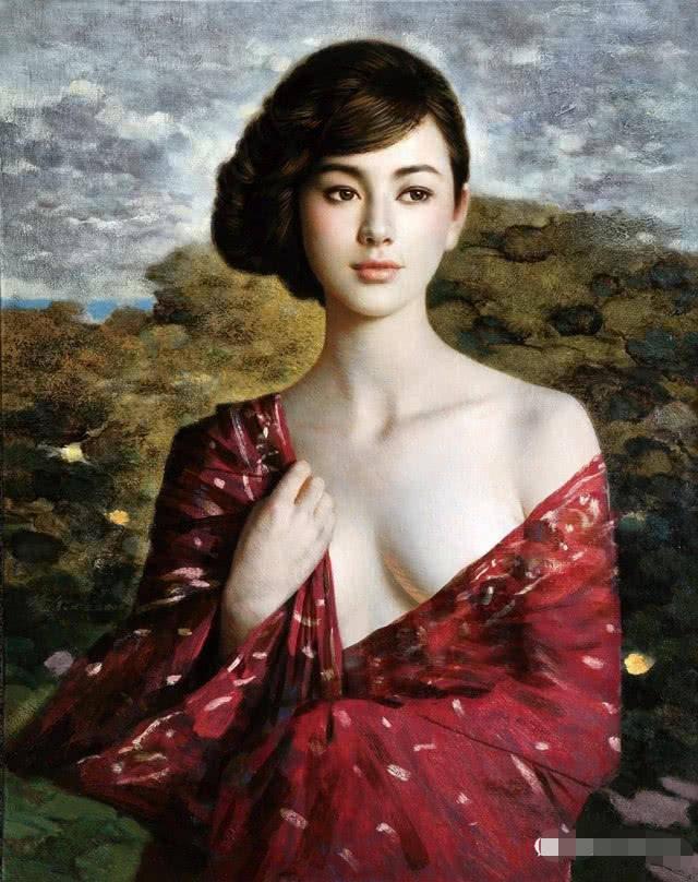 人体艺术阴蒂�:-f_中国当代油画构图的新特点及发展趋势分析,经典传统人体艺术油画欣赏
