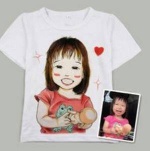 个性手绘t恤,李文靠它年入百万