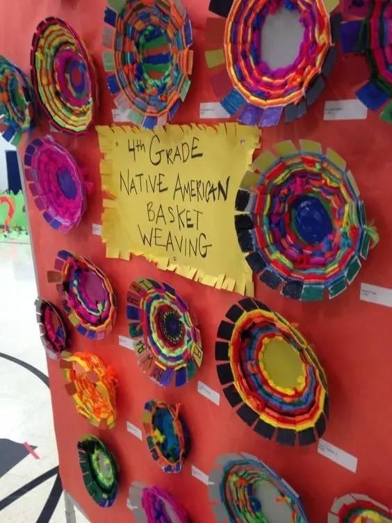 【手工环创】60幅图,用孩子的作品给幼儿园增添狂野的图片