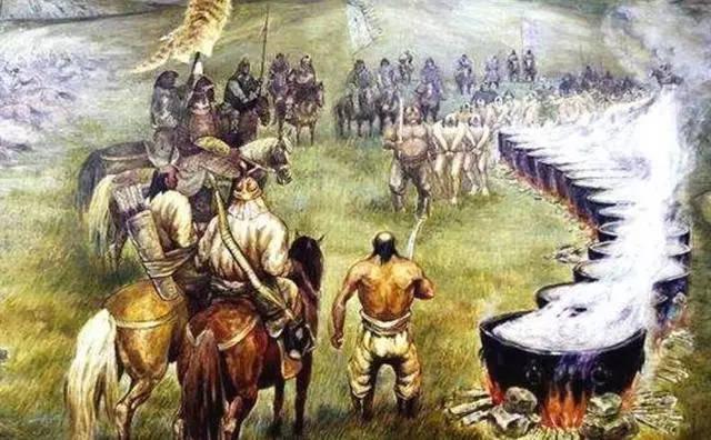 成吉思汗少有的惨败,敌人烹杀俘虏后,自己却反败为胜增强了实力