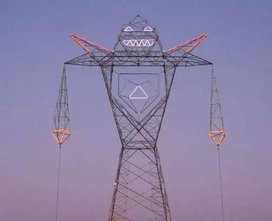 电力高压铁塔接地图纸
