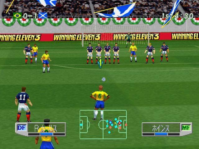 实况足球3_winning eleven 3 world cup france \'98(世界足球实况胜利十一人3 法
