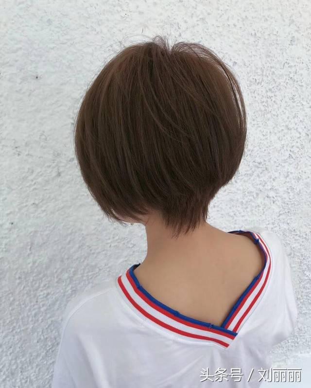 最修饰头型的短发15款,越剪越美,不得不去爱