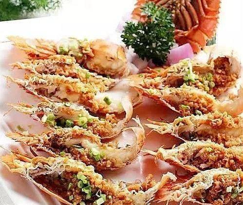 蒜香琵琶虾