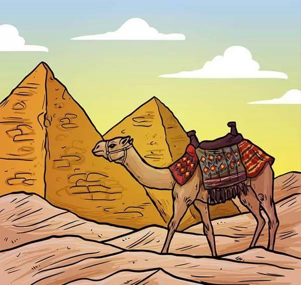 """骆驼也被大家称为""""沙漠之舟"""" ~ 星猫doremi故事电台图片"""