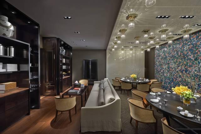 台北文华东方酒店 「雅阁」中餐厅 中餐厅「雅阁」的设计风格简约