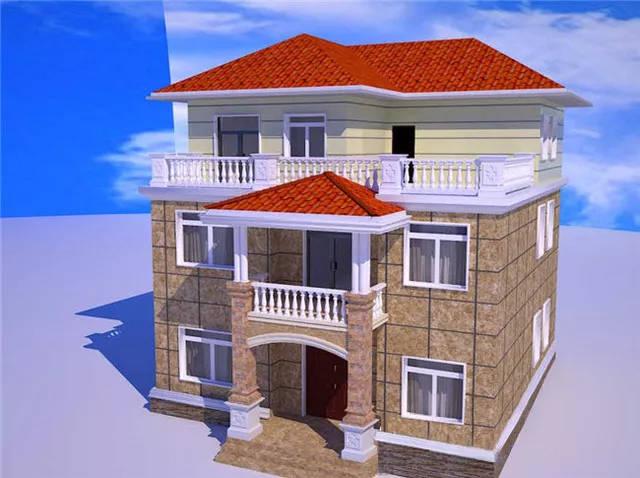 这次,小编又从设计师电脑上精选了15套三层的轻钢别墅效果图供广大