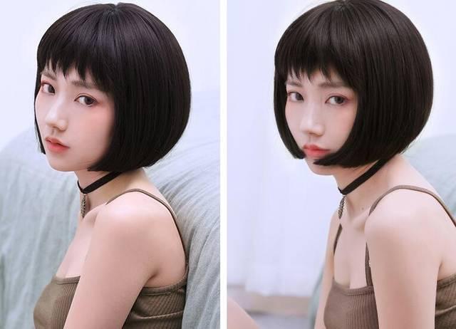 初中女生短发时尚有气质发型推荐图片图片