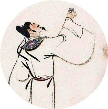 古代诗人简笔画李白