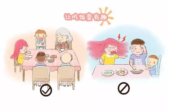 让宝宝自己吃饭,父母应该怎么做?