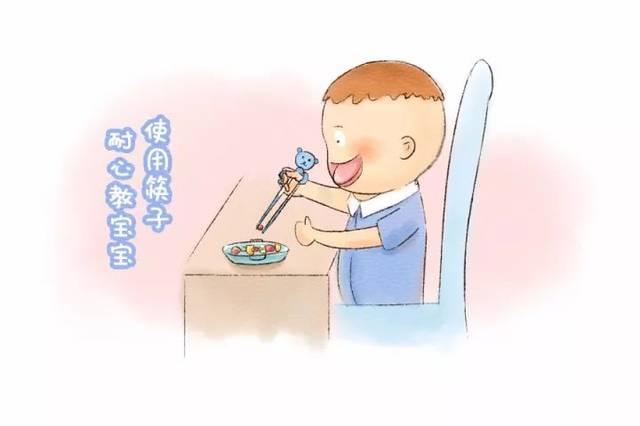 3,卡通图案让宝宝吃饭更香图片