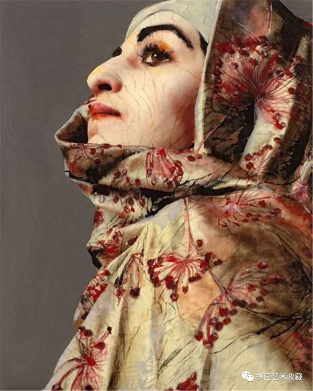 她曾是妓女遗弃的孩子,沦为小偷,如今却成了著名画家!图片