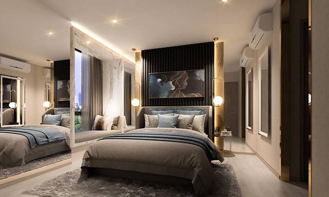 背景墙 房间 家居 起居室 设计 卧室 卧室装修 现代 装修 640_384