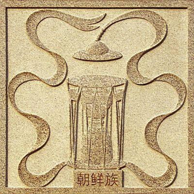 【朝鲜族】象征图案:农乐舞图片