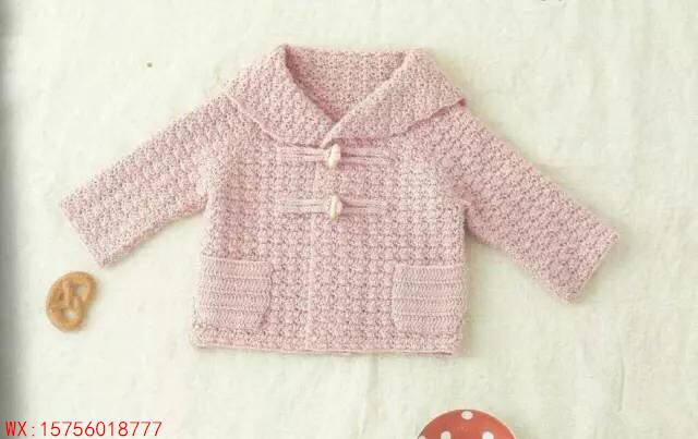 最简单婴儿开衫织法图解