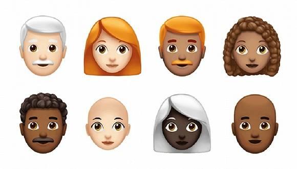 苹果emoji表情越来越强大,今年将再更新70余个新表情图片